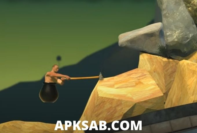 Getting Over It with Bennett Foddy Game