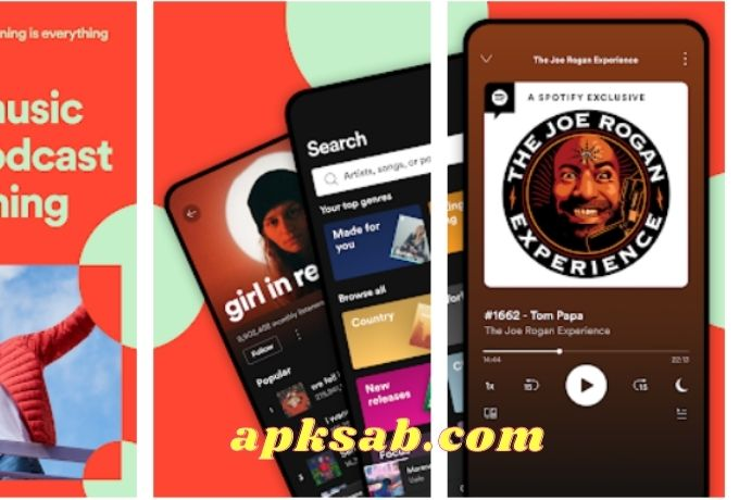 Spotify: Music and Podcasts Mod Apk